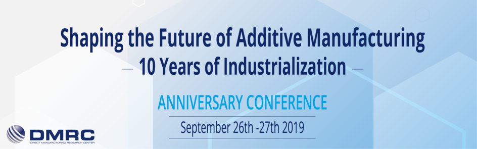 Shaping the Future of Additive Manufacturing 10 Years of Industrialization