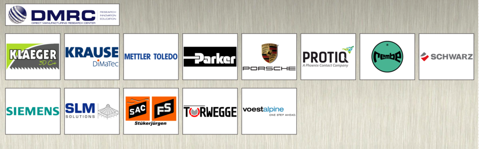Industry partners of the DMRC